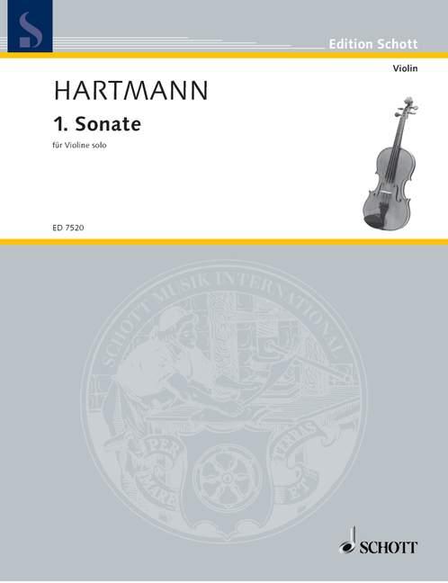 Dapper 1. Sonate Hartmann, Karl Amadeus Violin 9790001078573